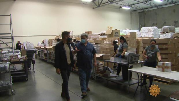Rancho Gordo's mailing club ships its beans to 11,000 members.  / Credit: CBS News