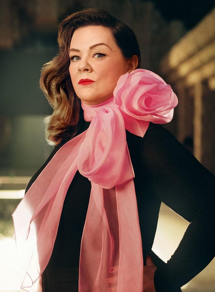 <p>&nbsp; &nbsp;</p> | <p>McCarthy in an Eloquii turtleneck and a&nbsp;Marc Jacobs necktie. Photographed by Robbie Fimmano.</p>