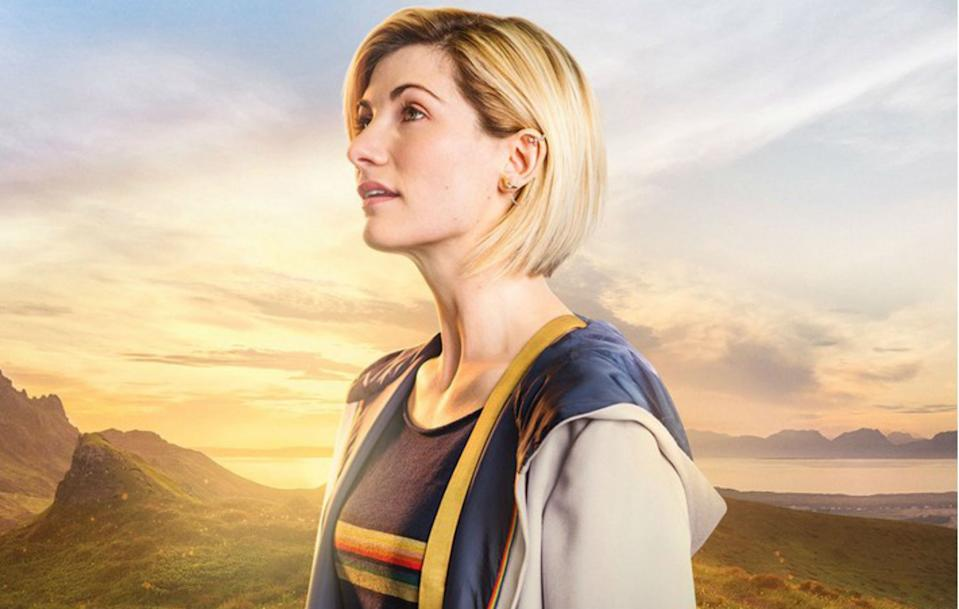 Whittaker as the Doctor in Doctor Who (Credit: BBC)