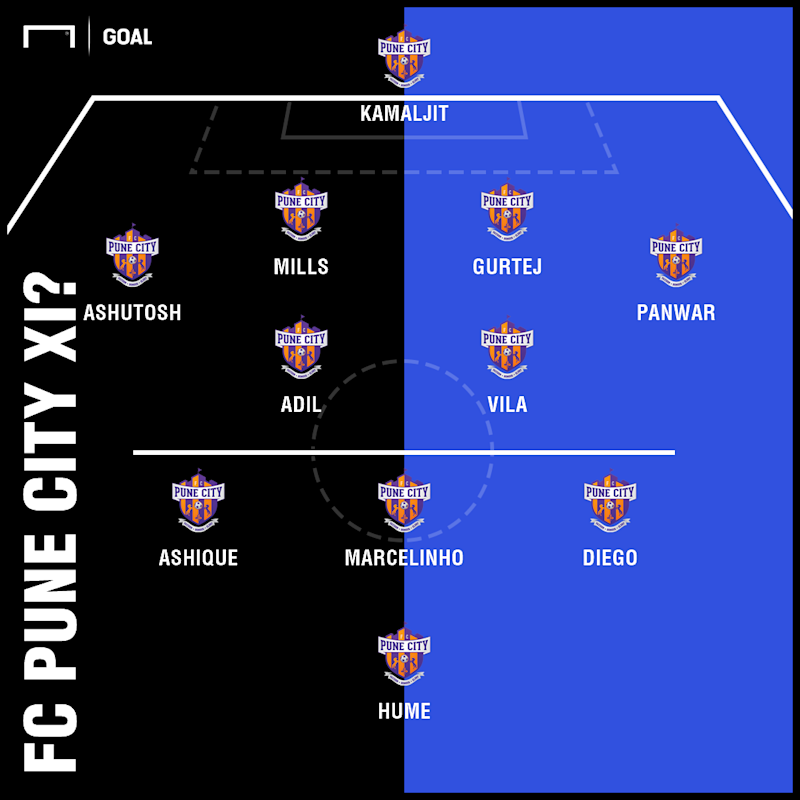 FC Pune City possible XI v NorthEast United ISL 5