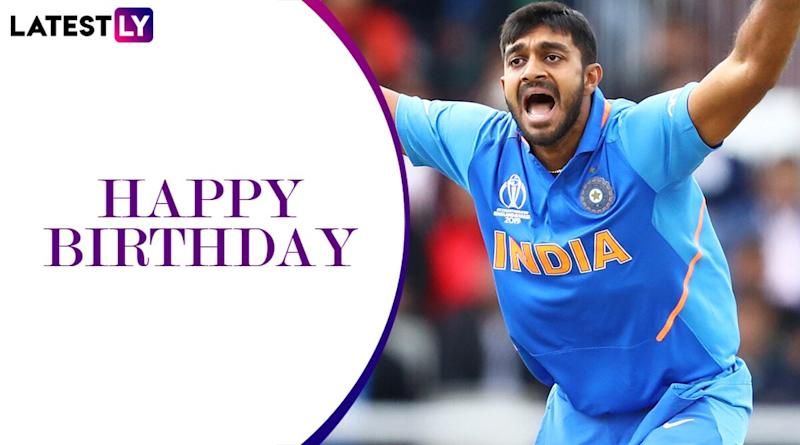 Happy Birthday Vijay Shankar: A Look at Some Remarkable Performances by Sunrisers Hyderabad All-Rounder