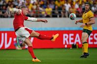 New Zealand-born centre Hadleigh Parkes has been a rock for Wales (AFP Photo/Toshifumi KITAMURA)