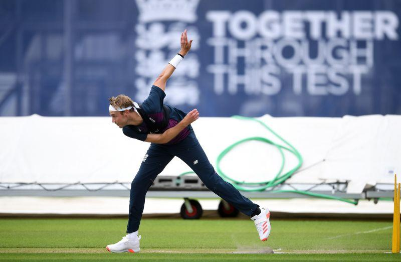 Broad will be a handful in the overcast conditions at Old Trafford