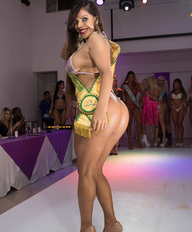 Suzy Cortez wins the Miss BumBum competition in Brazil.