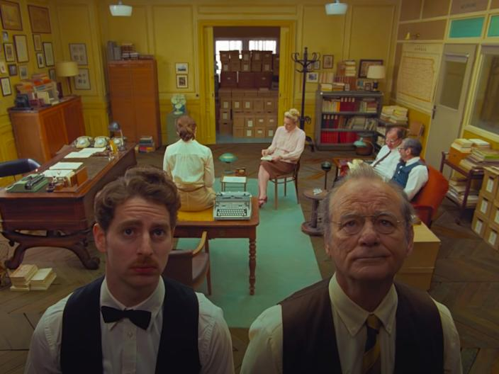 wes anderson 2020 movie french dispatch