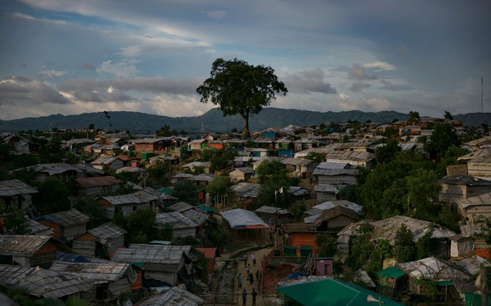Rohingyas live in cramped huts in the refugee camp in Cox's Bazar - Allison Joyce/Getty Images