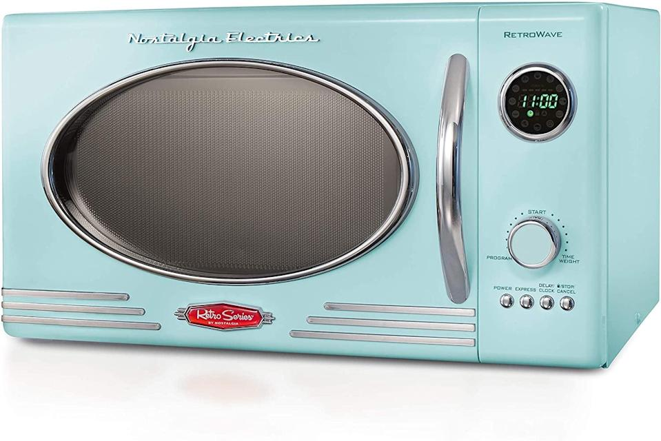 <p>You'll want to use this <span>Retro Microwave </span> ($110) every day.</p>