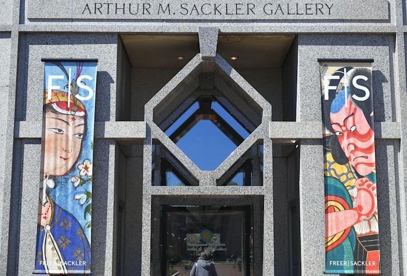 The Arthur M. Sackler Gallery, a Smithsonian Institution museum devoted to Asian art, in Washington, D.C. | MANDEL NGAN—AFP/Getty Images