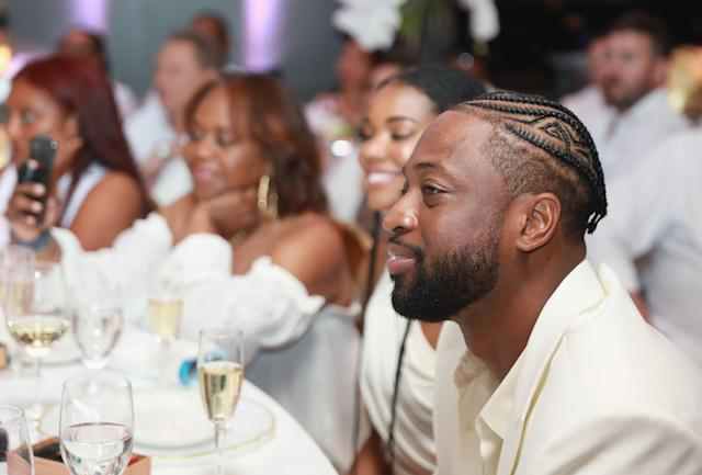 Dwyane Wade's off-the-court work made a difference in people's lives, and Budweiser found a way to show him how important that work was. (Photo by Bobby Metelus/Getty Images)