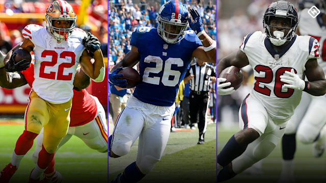 Last week saw a handful of important fantasy football RBs get injured. Here are the latest updates on Matt Breida, Saquon Barkley, Lamar Miller, and Kerryon Johnson and how they'll impact Week 6 fantasy waiver pickups and rankings.