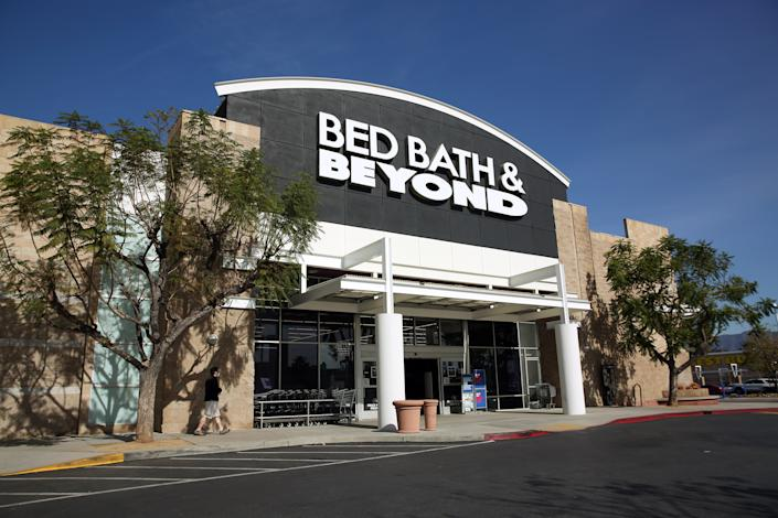 LOS ANGELES, CA - JANUARY 28: A Bed, Bath & Beyond is photographed in Pasadena on Thursday, Jan. 28, 2021 in Los Angeles, CA. (Dania Maxwell / Los Angeles Times via Getty Images)