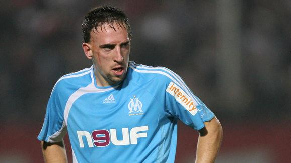 TO GO WITH AFP STORY IN FRENCH: ' RIBERY
