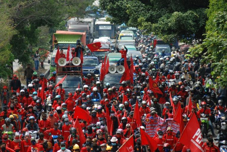 New Indonesia investment bill angers labour, green groups