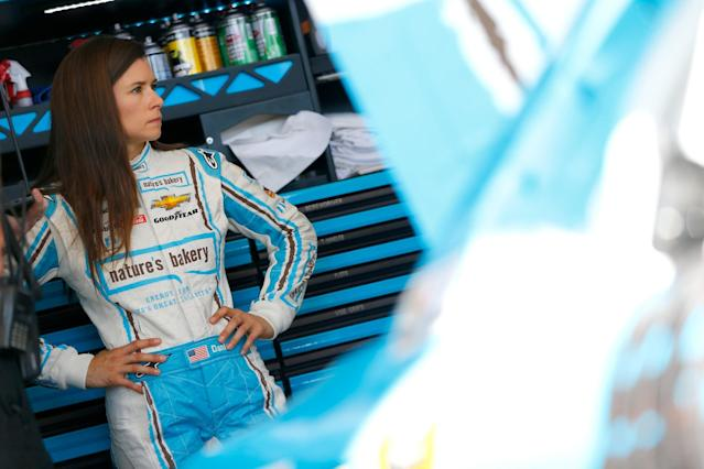 """<a class=""""link rapid-noclick-resp"""" href=""""/nascar/nationwide/drivers/1311"""" data-ylk=""""slk:Danica Patrick"""">Danica Patrick</a> will be sponsored by Nature's Bakery for two races in 2017. (Getty)"""