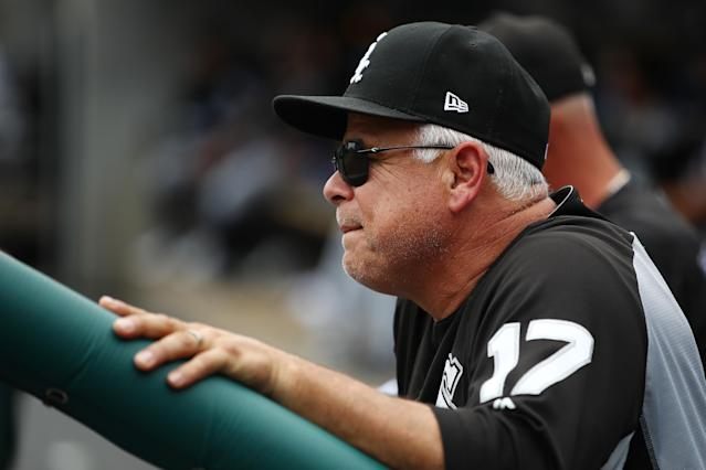 Chicago White Sox manager Rick Renteria was reportedly taken to a hospital on Monday in Minneapolis after complaining of lightheadedness. (Getty Images)