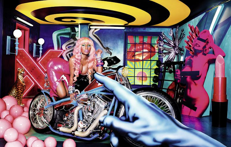 David LaChapelle, Superbass (Nicki Minaj), 2011.