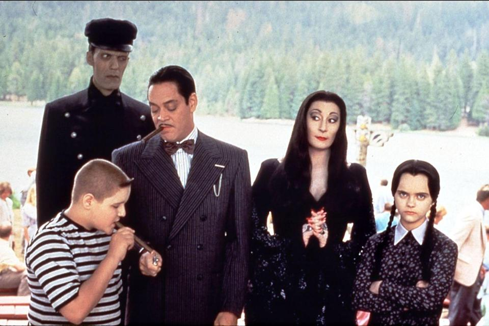 "<p>""Eat us! Hey, it's Thanksgiving day. Eat us! We make a nice buffet. We lost the race with Farmer Ed. Eat us, 'cause we're good and dead."" – Addams Family</p>"