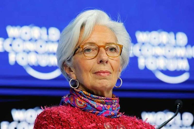 Former IMF Chief Christine Lagarde Urges Policymakers to Resolve Manmade Threats to Global Economy