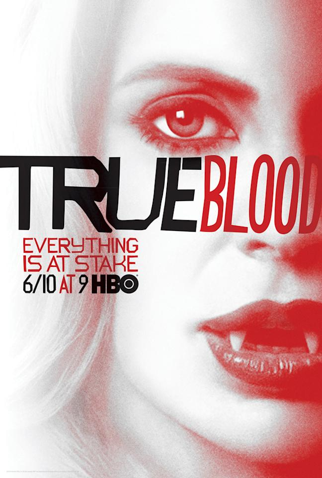 """True Blood"" Season 5 poster featuring Pam De Beaufort (Kristin Bauer van Straten)"