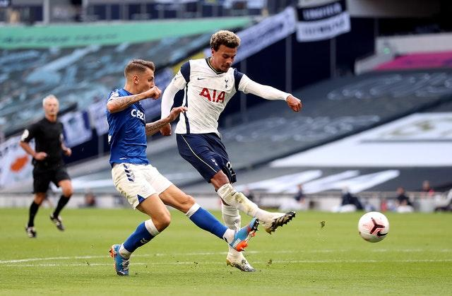 Dele Alli (right) could potentially be used as a makeweight in the deal
