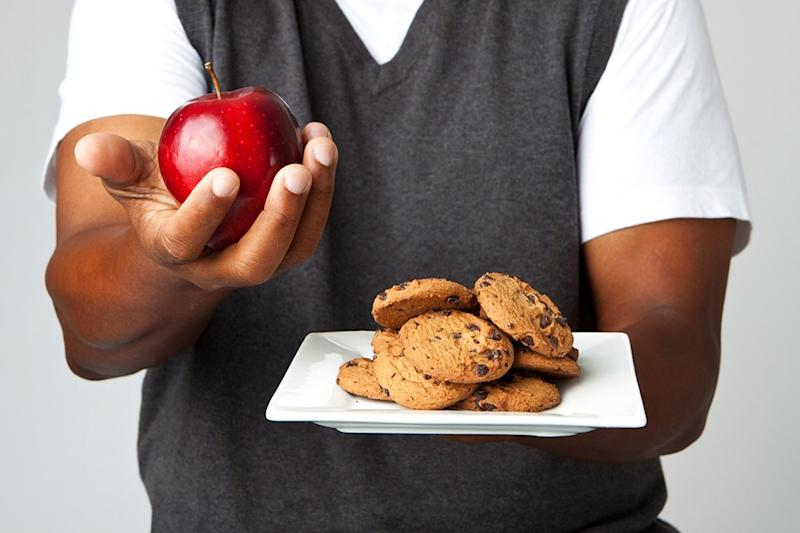 Why you cant lose weight cookies and apples