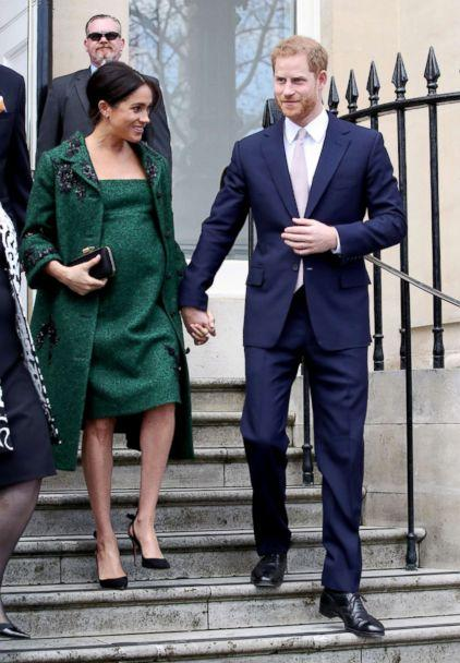 PHOTO: Meghan, Duchess of Sussex and Prince Harry, Duke of Sussex departs a Commonwealth Day Youth Event on March 11, 2019, in London. (Chris Jackson - WPA Pool/Getty Images)