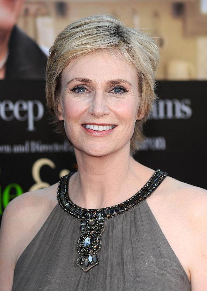 "<a href=""http://movies.yahoo.com/movie/contributor/1802866092"">Jane Lynch</a> at the Los Angeles premiere of <a href=""http://movies.yahoo.com/movie/1810006886/info"">Julie & Julia</a> - 07/27/2009"