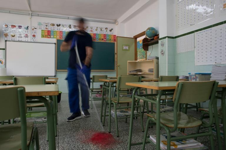 As Spain cases soar, school return comes too soon for some