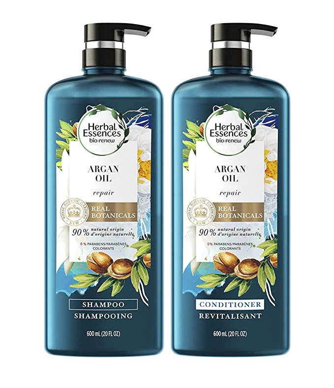 """<h3>Herbal Essences Argan Oil Color-Safe Shampoo and Conditioner Bundle</h3><br><br>No more stealing your roomie's stuff: Stock up on this Costco-sized bundle of Herbal Essences's argan oil-infused shampoo and conditioner for just $16.<br><br><strong>Herbal Essences</strong> Argan Oil Color-Safe Shampoo and Conditioner Bundle, $, available at <a href=""""https://amzn.to/3d4QaIq"""" rel=""""nofollow noopener"""" target=""""_blank"""" data-ylk=""""slk:Amazon"""" class=""""link rapid-noclick-resp"""">Amazon</a>"""