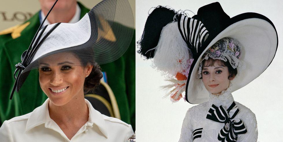 "<p>Audrey Hepburn is an international symbol for timeless style, and it looks like Meghan Markle is following suit(s). From day one in the royal limelight, the Duchess of Sussex has embraced the sleek silhouettes, smart hemlines, and impeccable tailoring <a rel=""nofollow"" href=""https://www.elle.com/fashion/g19422025/best-audrey-hepburn-givenchy-style-moments/"">made famous by Hubert de Givenchy</a>, Audrey's longtime collaborator. Here, our favorite Audrey-inspired ensembles worn by the Duchess of Sussex.</p>"