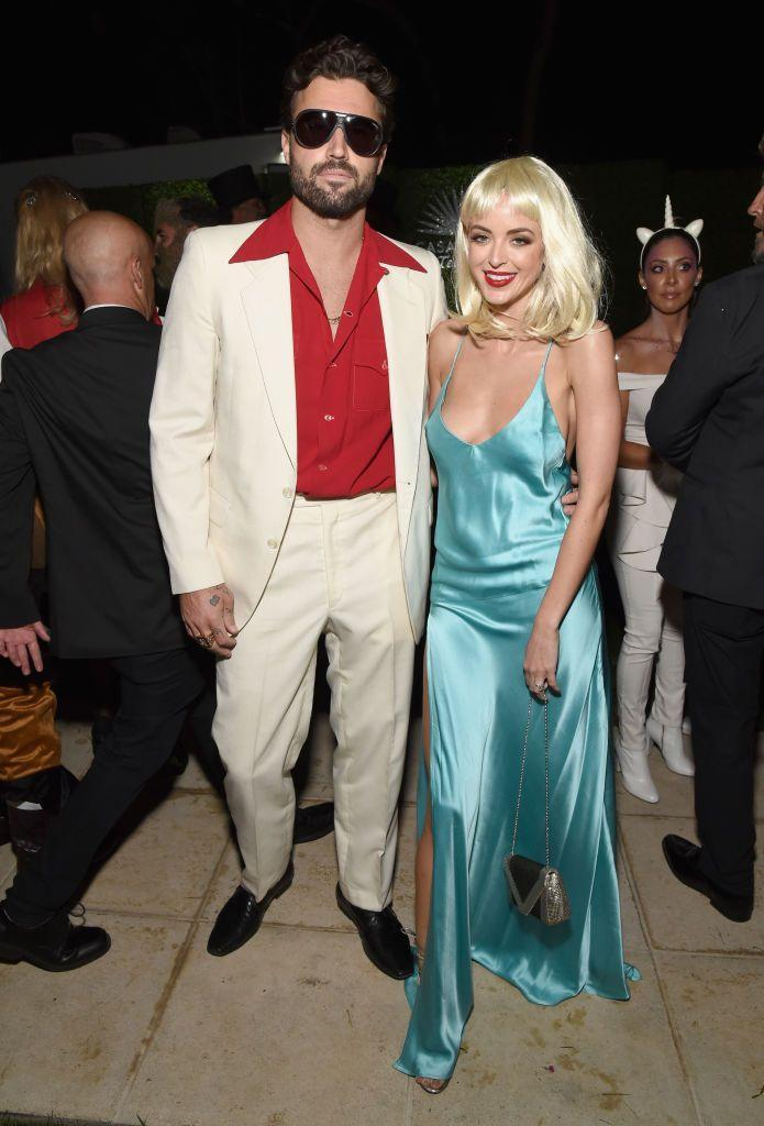 <p>Brody Jenner and Kaitlynn Carter gave a nod to one of cinema's most famous couples in 2018. </p>