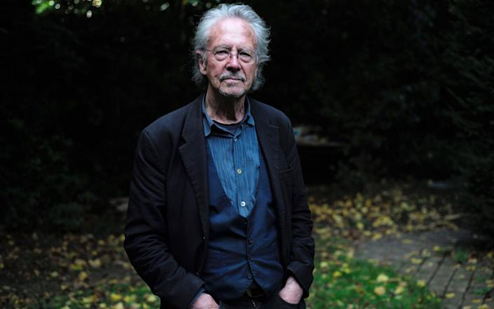 Austrian author Peter Handke has for years defended Serbian president and accused war criminal Slobodan Milosevic - REX