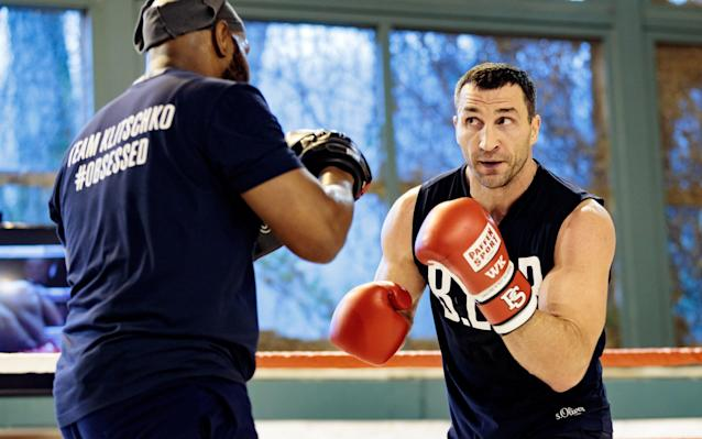 Wladimir Klitschko has not shied away from the fact that some British heavyweight fighters have not always behaved in the manner expected of them  - Rex Features