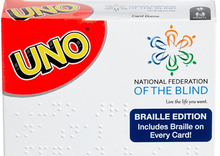 UNO Braille is available at Target in stores or online for $9.99