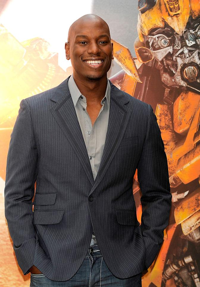 """<a href=""""http://movies.yahoo.com/movie/contributor/1804500453"""">Tyrese Gibson</a> at the Madrid photocall for <a href=""""http://movies.yahoo.com/movie/1809943432/info"""">Transformers: Revenge of the Fallen</a> - 06/12/2009"""