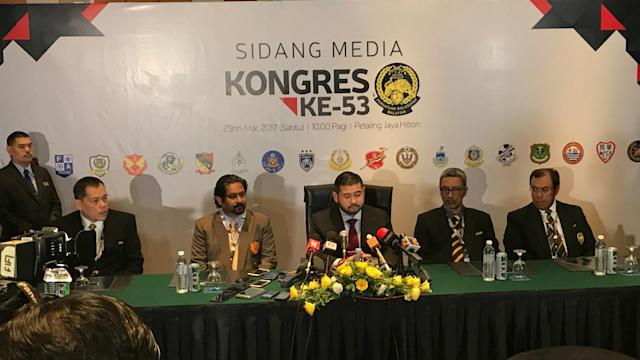 Tunku Ismail Sultan Ibrahim was officially announced as the new FAM President after the 53rd FAM Congress on Saturday afternoon