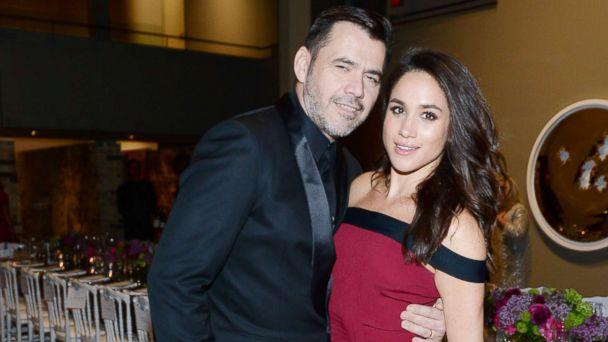 PHOTO: Designer Roland Mouret and actress Meghan Markle attend the Roland Mouret private dinner at Corkin Gallery in this April 28, 2016 file photo in Toronto. (George Pimentel/WireImage via Getty Images, FILE)