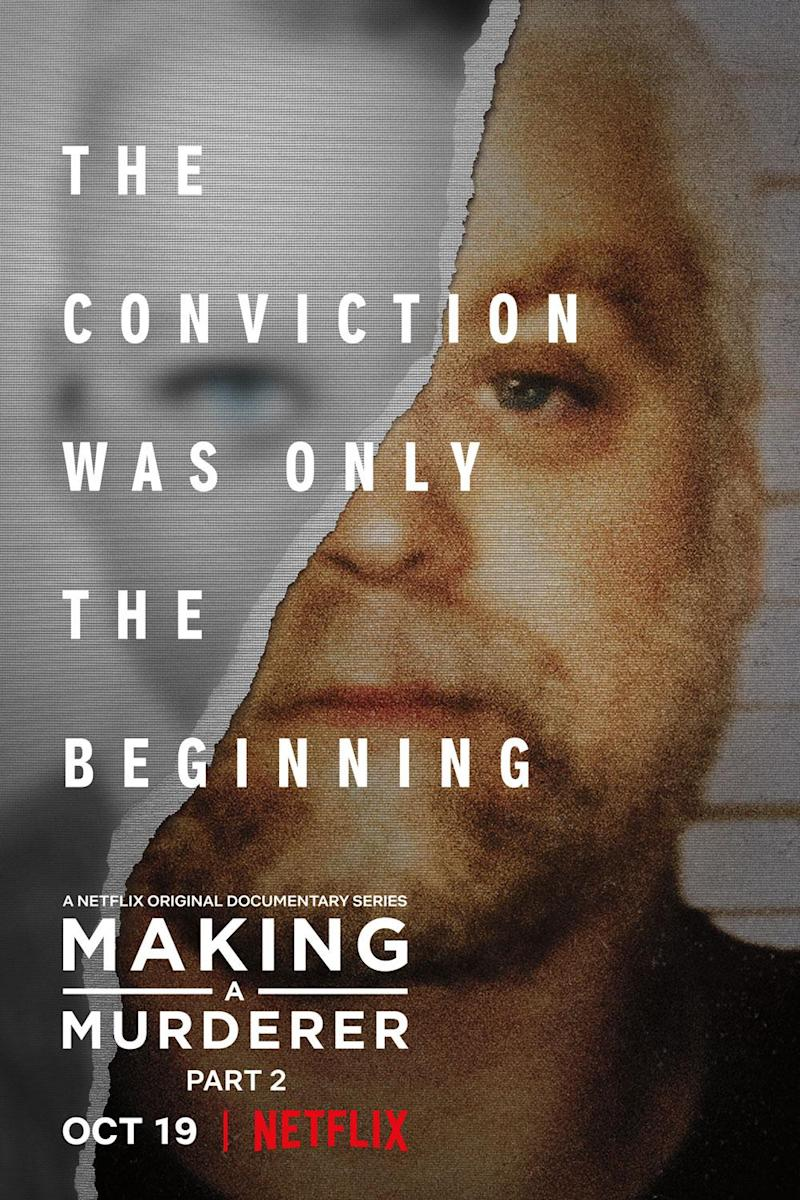 Part two: Steven Avery's story continues (Netflix)
