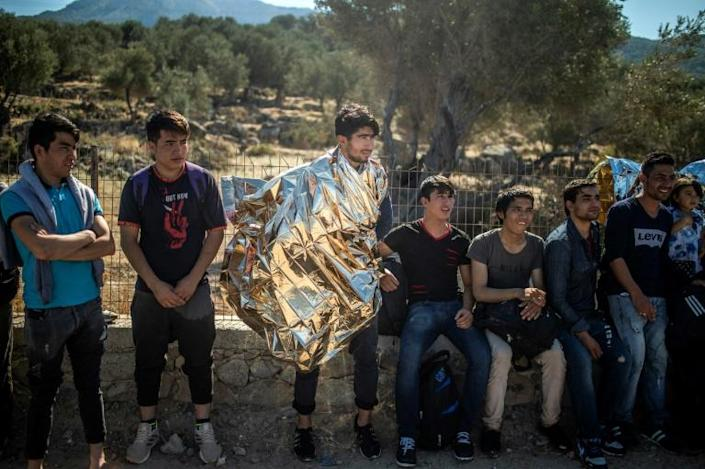 Greece plans to return to Turkey 10,000 migrants who fail asylum requirements by the end of 2020 (AFP Photo/ANGELOS TZORTZINIS)