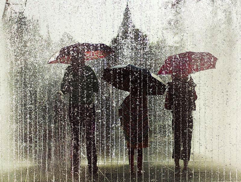 Martin Posnett, Fountain on the South Bank, London, Commended in the Urban View category.
