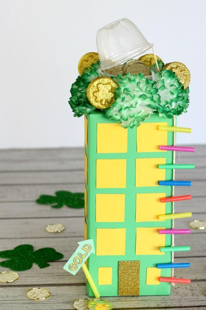 """<p>You don't invite over just any ol' leprechaun. The leprechauns that come to your house are fancy, which means the only way to lure them in is with this multi-level trap.</p><p><em><a href=""""https://funmoneymom.com/how-to-trap-a-leprechaun-rooftop-garden-leprechaun-trap/"""" rel=""""nofollow noopener"""" target=""""_blank"""" data-ylk=""""slk:Get the tutorial at Fun Money Mom »"""" class=""""link rapid-noclick-resp"""">Get the tutorial at Fun Money Mom »</a></em></p>"""