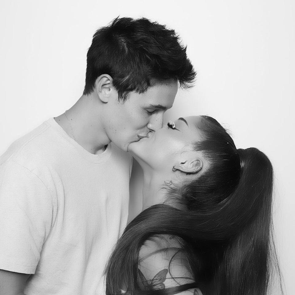 The pair was first linked in January this year with their relationship being put on the fast track when they began quarantining together in March. Photo: Instagram/Ariana Grande
