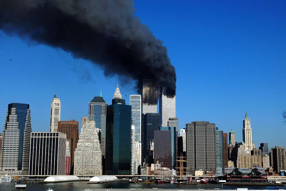 The attacks on the World Trade Centre's twin towers shocked not only the US but the entire world. Source: AFP via Getty