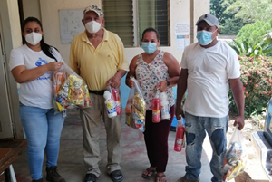 """""""Dinant has donated food and detergent to100,000 people in 71 communities."""""""