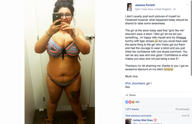 """Woman Fat-Shamed Over Her """"Biiiigggg Tummy With Tiger"""