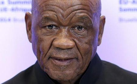 Lesotho's PM Thabane attends an EU-Africa summit in Brussels