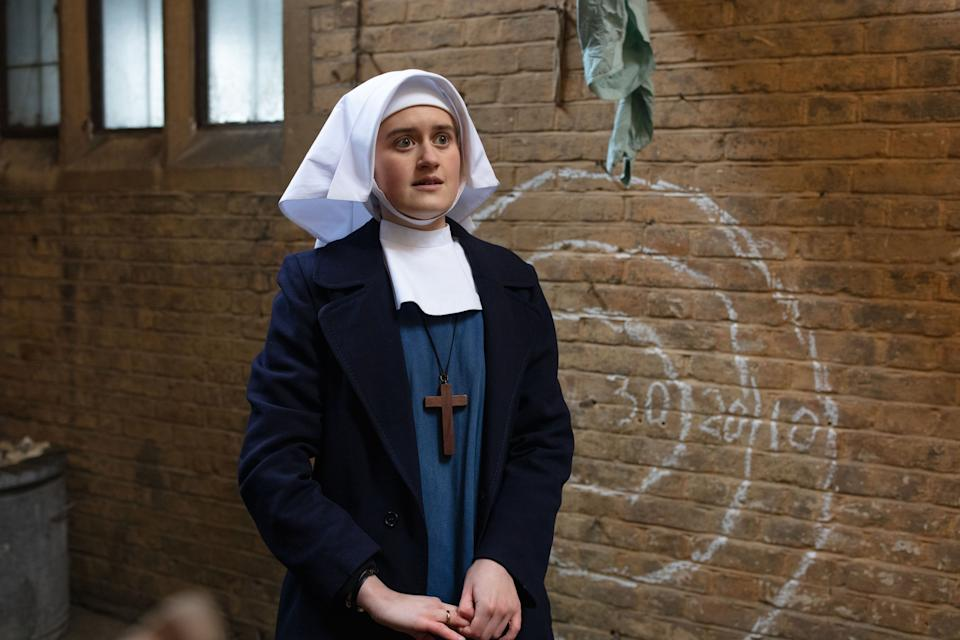 Call the Midwife's Sister Frances. (BBC / Nealstreat Productions / Sophie Mutevelian)