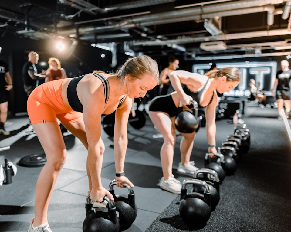 (Strength and conditioning at UN1T Holborn)