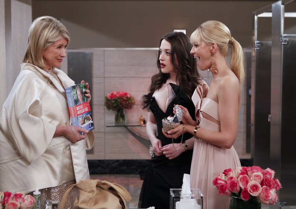 "<b>""2 Broke Girls""</b><br><br>Monday, 5/7 at 8 PM on CBS<br><br><a href=""http://yhoo.it/IHaVpe"">More on Upcoming Finales </a>"