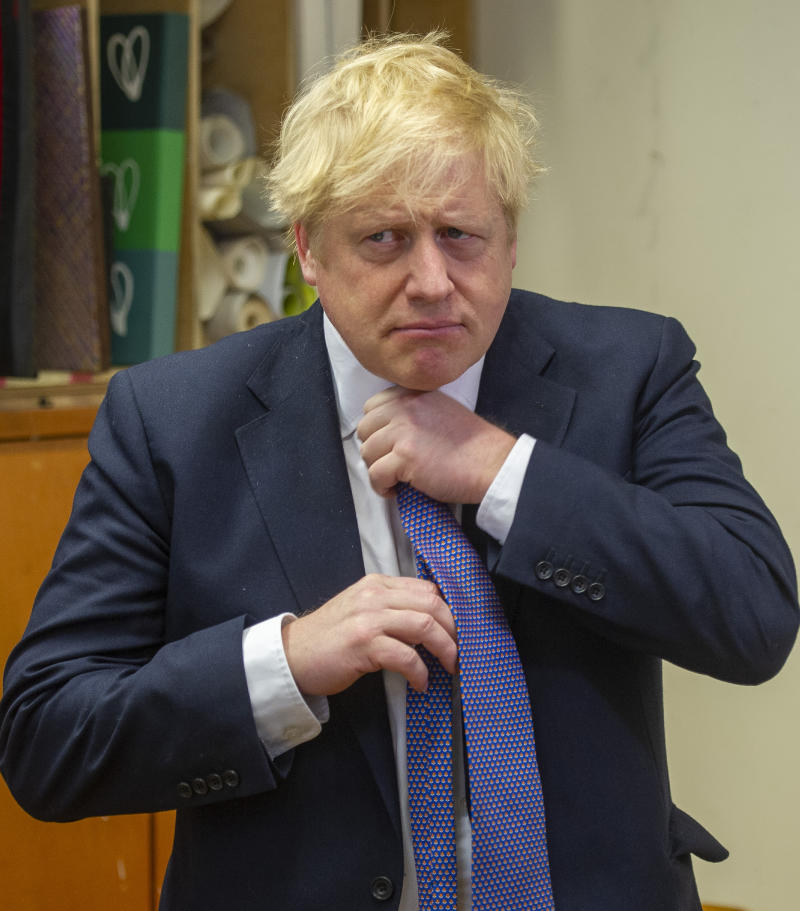 Prime Minister Boris Johnson said he was following medical advice concerning Brits on board the Diamond Princess cruise ship. (PA)